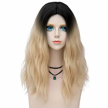 Probeauty Fairy Collection Ombre Dark Root 45CM Long Curly Women Lolita ... - $22.77