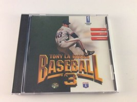 Tony La Russa Baseball 3 (1995) PC CD MLB Manager Sports Season Roster Strategy  image 1