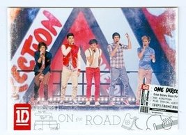 One Direction trading card (One Direction 1D) 2013 Panini On the Road #3 - $4.00