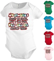 Grandpa Funny Baby Bodysuit Infant toddler Creeper Shower party Gift KP317 - $12.99