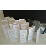 """25 Clear Acrylic Slant Back Table Sign Frames Restaurant Wedding 2 x 6"""" ... - $14.95"""