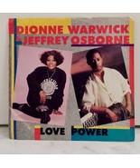 "Vintage Dionne Warwick And Jeffrey Osborne ""Love Power"" 7"" Vinyl Record - $4.99"