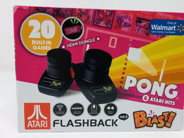 Atari Flashback Blast! Pong Retro Gaming System W/ 20 Games - Breakout O... - $19.00