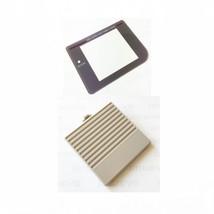 New GRAY Nintendo Game Boy Original DMG-01 Battery Cover + New Screen Le... - $6.96