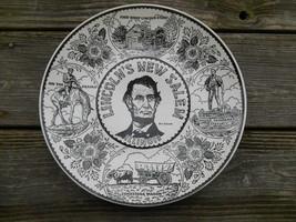 Old Vintage Souvenir Travel Collector Plate Decor Lincoln's New Salem Il... - $9.99