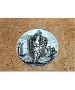 Fornasetti Le Oceanidi 9 Shell Plate Black White Transfer Porcelain Tiff... - $395.00