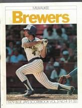 Toronto Blue Jays Scorebook vs Milwaukee Brewers Paul Molitor 1979 - $9.98