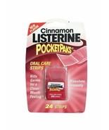 Listerine PocketPaks Cinnamon, 1 Pack of 24 Strips - $18.70