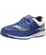 Saucony Men's Hurricane ISO 3 Running Shoe S20348-2, Blue/White/Silver S... - $57.92