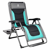 EVER ADVANCED Oversize XL Zero Gravity Recliner Padded Patio Lounger Cha... - $135.50
