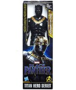 Marvel Black Panther Movie Titan Hero Series 12-inch Erik Killmonger - $16.99