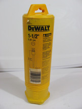 "NEW Dewalt DW5782 Two Piece 9 1/2"" X 1 1/2"" Spline Shank Demo Bushing To... - $21.04"