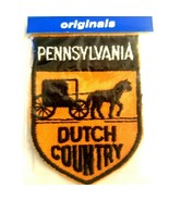 NOS Voyager Travel Souvenir Patch- Dutch Country Pennsylvania Amish Hors... - $19.31