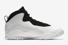 355cac0417d9 NIKE AIR JORDAN 10 X RETRO  quot IM BACK quot  SUMMIT WHITE BLACK MEN