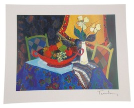 Itzchak Tarkay Too Cold At Home Seriolithograph in Color on Paper Signed... - $11.59
