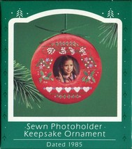1985 - New in Box - Hallmark Christmas Keepsake Ornament - Photoholder - $5.44