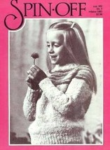 Spin-off magazine winter 1983: spin worsted, wool-combing - $16.78