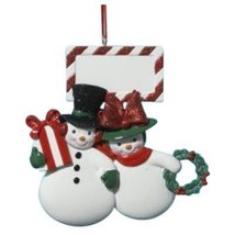 Kurt Adler Resin Snowman Family of Two Ornament - $12.50