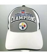 Super Bowl XL Champions Ball Cap Hat NFL Reebok 2006 Steelers Pittsburg... - $29.69