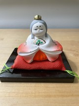 Pair of Vintage Hina Dolls from Japan image 3