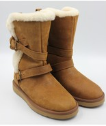 UGG Becket Women's Winter Boot Chestnut Leather Size 6 - NEW Authentic - $168.29
