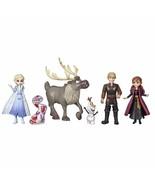 Disney Frozen Adventure Collection 5 Small Dolls from Frozen 2 Anna Elsa... - $26.32