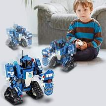 Mould King 2 in 1 Building Block Robot Policemen Toy with Remote Control Robot E image 2