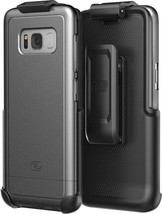 Galaxy S8 Belt Clip Holster Case, Smooth Touch SlimShield Armor by Encas... - $16.49