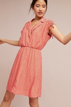NWT Anthropologie Maeve Carlotta Ruched Shirt Dress $128 VAR SZs - $44.20