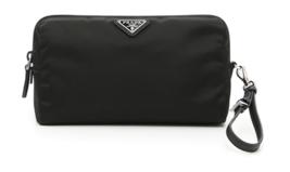 PRADA Prada 1NE693 067 porch BK F0002 second bag clutch black - $450.00