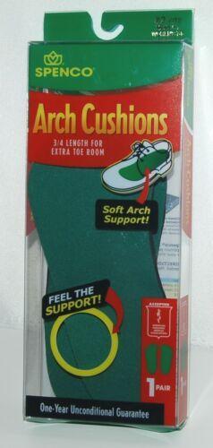 Spenco 3058583 Three Quarter Length Arch Cushions Number 2 Color Green