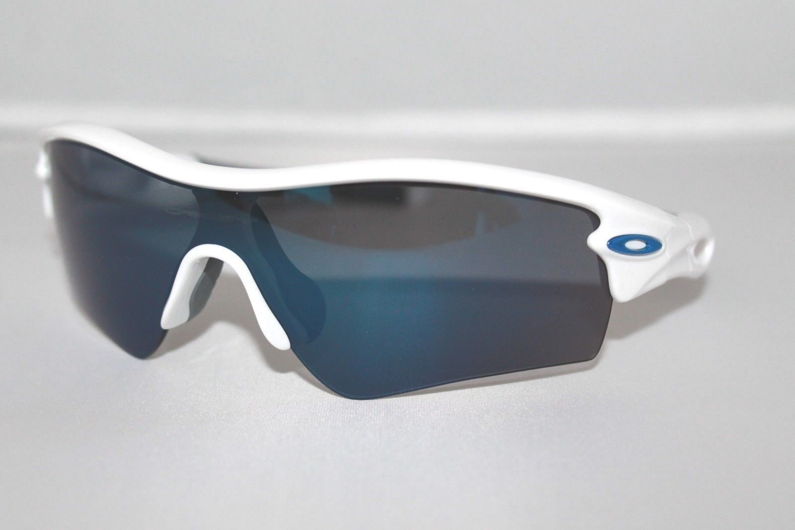 a018f4c0e8 57. 57. Previous. Oakley Radar Path Sunglasses 09-766 Polished White Frame W   Ice Iridium Lens