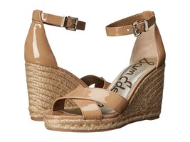Women's Sam Edelman Brenda Wedge Sandals, E0567S2250 Sizes 5-9.5 Almond ... - $80.95