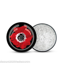 New The Body Shop Smoky Poppy Poppy Seed Body Scrub 7.9oz - $22.15