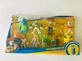 Imaginext Toy Story 4 Deluxe Figure Pack - Woody, Buzz, Bo Peep, Forky &... - $19.77