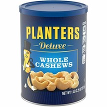 Planters Deluxe Whole Cashews, 18.25 oz Canister - $16.00