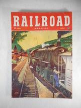 Vintage Railroad Magazine August 1951 Train on Cover - $10.84