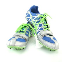 Nike Zoom Rival S Track Field Sprint Shoes Mens 12 Silver Blue Green 456... - $24.63