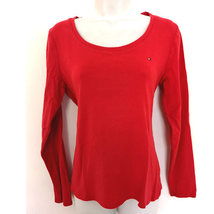 Tommy Hilfiger Cotton Top red M - $12.00