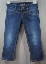 GUESS Capri Denim Jeans Size 26 Waist Zippered Leg Back Summer, Spring - $19.95