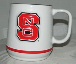 NC North Carolina State Wolfpack 3D Raised Ceramic Coffee Mug Cup Excell... - $26.72