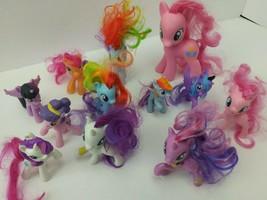 "Mlp My Little Pony (12) Unicorn Pinkie Pie Mc Donald's Walmart  3"" & 6"" (3B1) - $4.49"