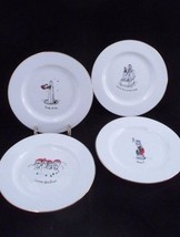 4 Dayton Hudson Merry Masterpieces Christmas Plates Lincoln Statue of Li... - $15.10