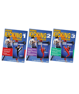 3 DVD SET Winning Kicking Techniques Red Dragon Tournament Karate - Chri... - $79.95