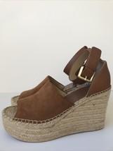 Marc Fisher LTD Adalyn Espadrille Wedge Sandal, Women's Size 10M, Brown - $36.15