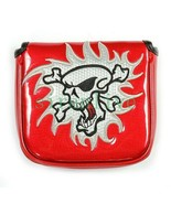 New Skull Golf Putter Cover Large Mallet Golf Head Cover Magnetic Closur... - $23.39+