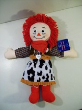 "RAGGEDY ANN COWGIRL 15"" RAGDOLL APPLAUSE, WESTERN DOLL WITH TAG - $19.55"