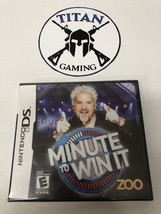 Minute to Win It (Nintendo DS, 2010) - $7.60