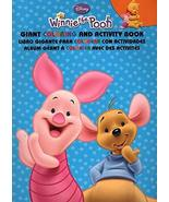 Disney Winnie the Pooh - Giant Coloring & Activity Book - v1 [Paperback]... - £6.31 GBP