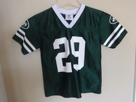 Vintage Leon Washington # 29 New York Jets Jersey Youth Medium NFL Team Apparel - $17.64